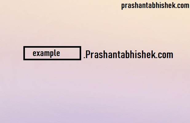 How to Create Dynamic Subdomain with the help of PHP and Htaccess Prashantabhishek.com