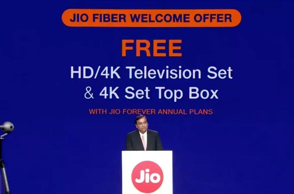 Reliance Jio GigaFiber starting from September 5 2019, Know About Pricing Plans and Welcome Offer Prashantabhishek.com